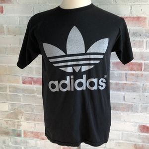 Adidas Two Sided Tree Foil Large Logo T-Shirt
